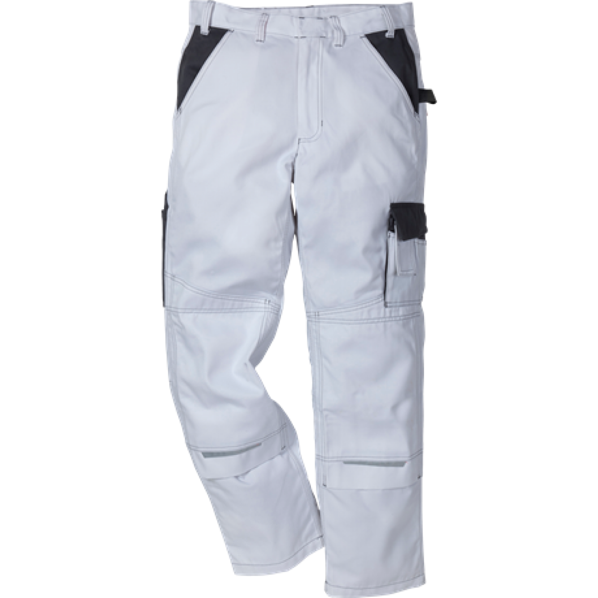 Kansas Icon arbejdsbukser Hvid/grå-33