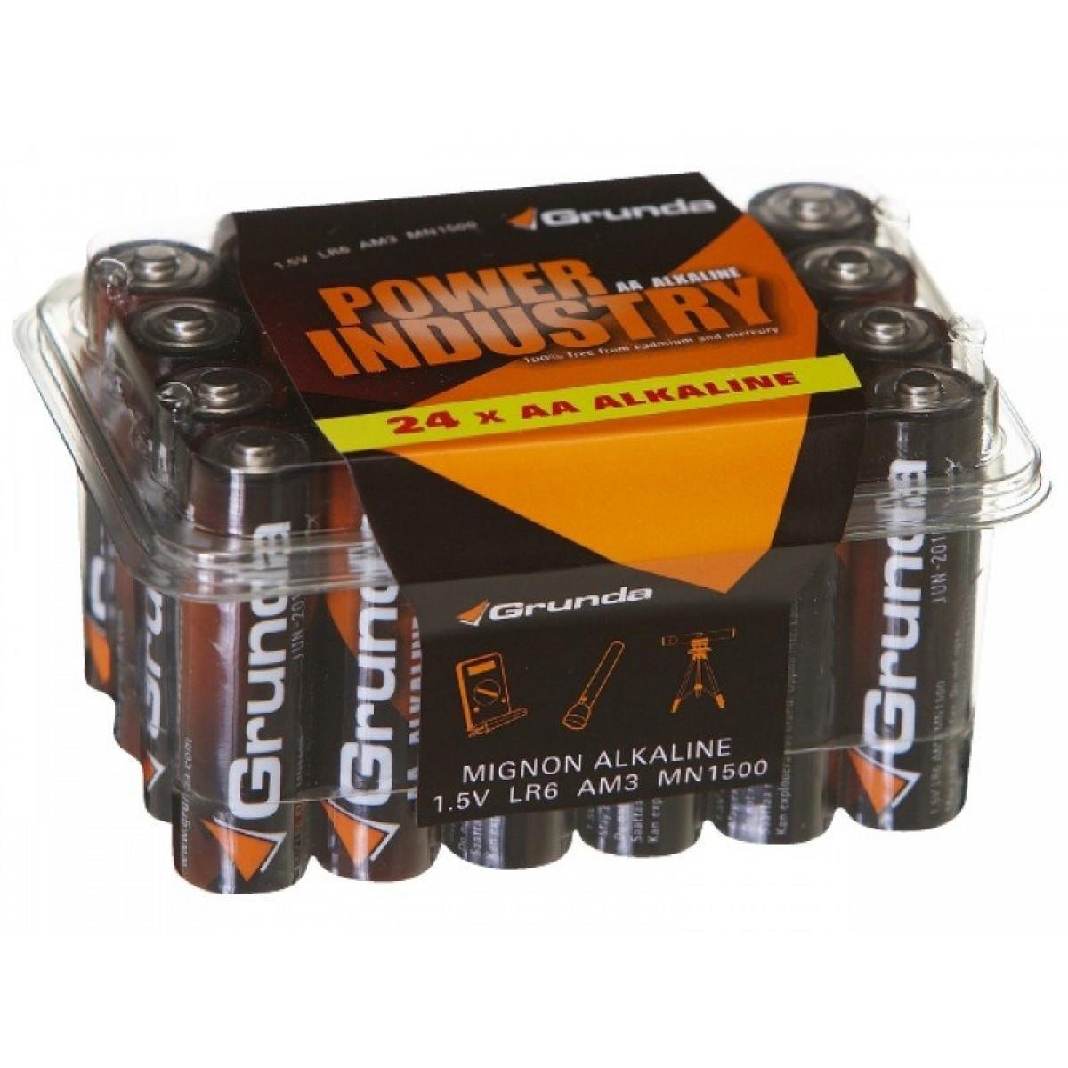Grunda Power Batteri 24 stk Alkaline AA-31