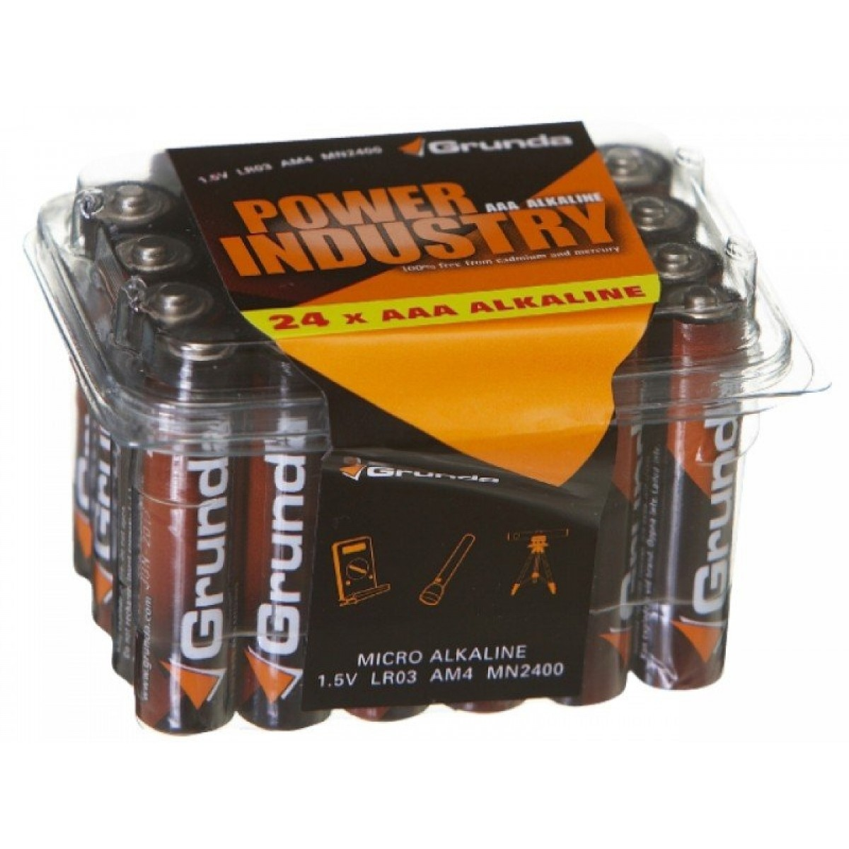 Grunda Power Batteri 24 stk Alkaline AAA-31
