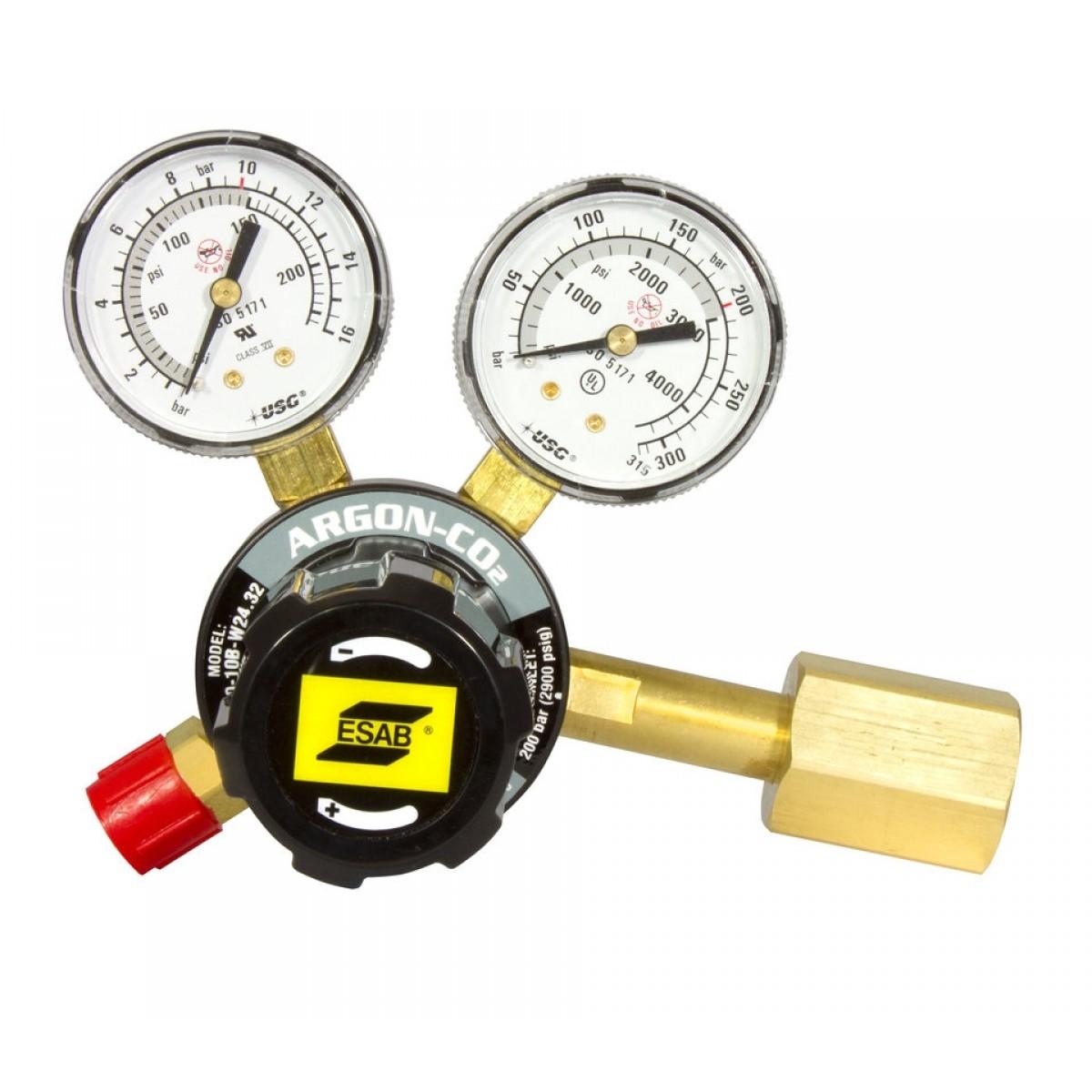 Esab Reduktionsventil Argon/CO2 Sort-31