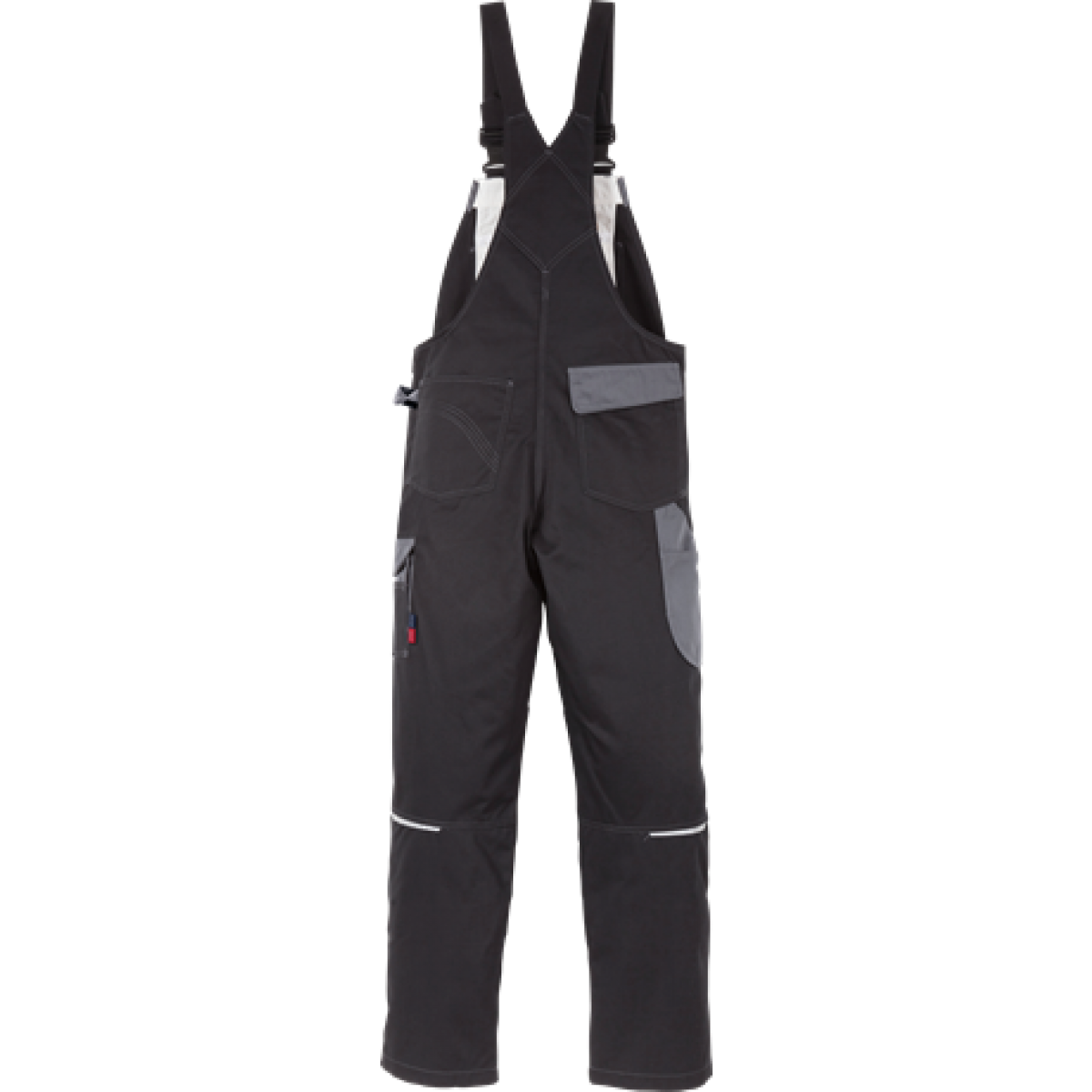 Kansas Icon Overalls Sort/Grå-33