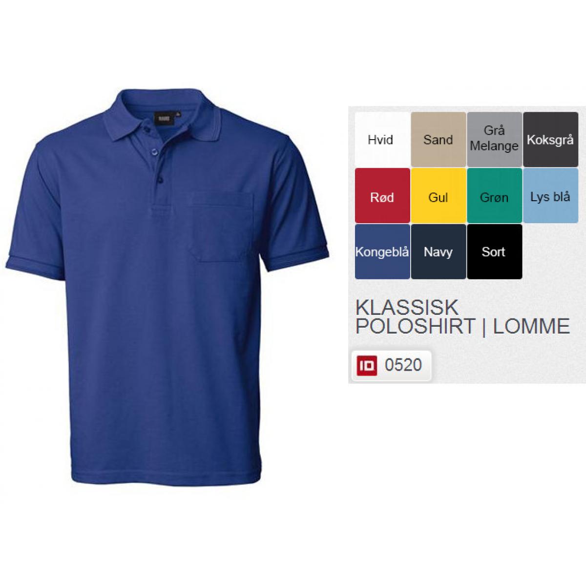 Klassisk Poloshirt-31