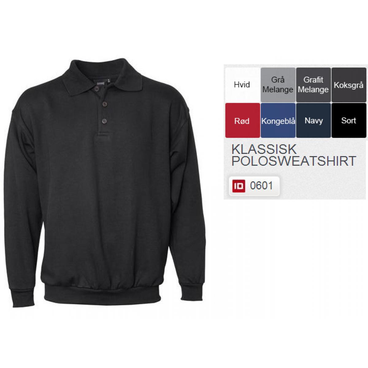 Klassisk Polosweatshirt-31