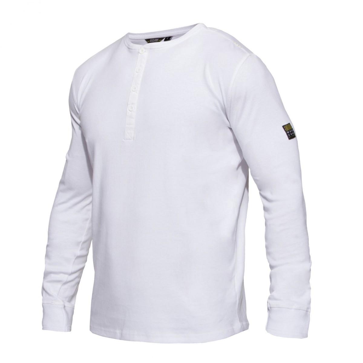 F. Engel Workzone Grandad T-Shirt L/Æ-32