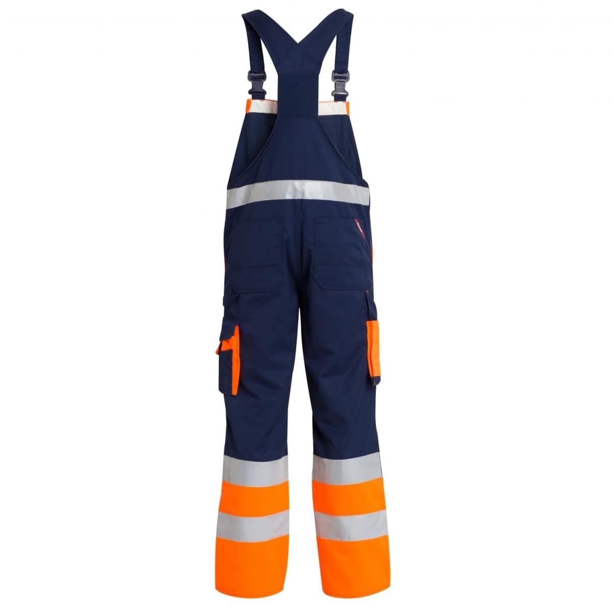 F. Engel Safety EN 20471 Overall med elastik-31