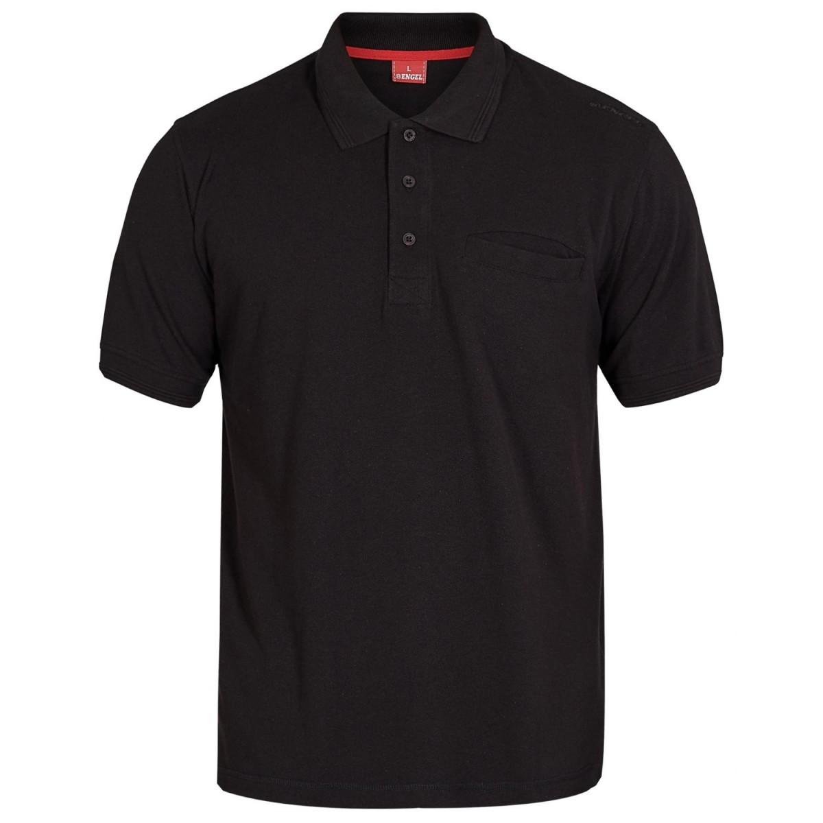 Poloshirt Med Brystlomme-32
