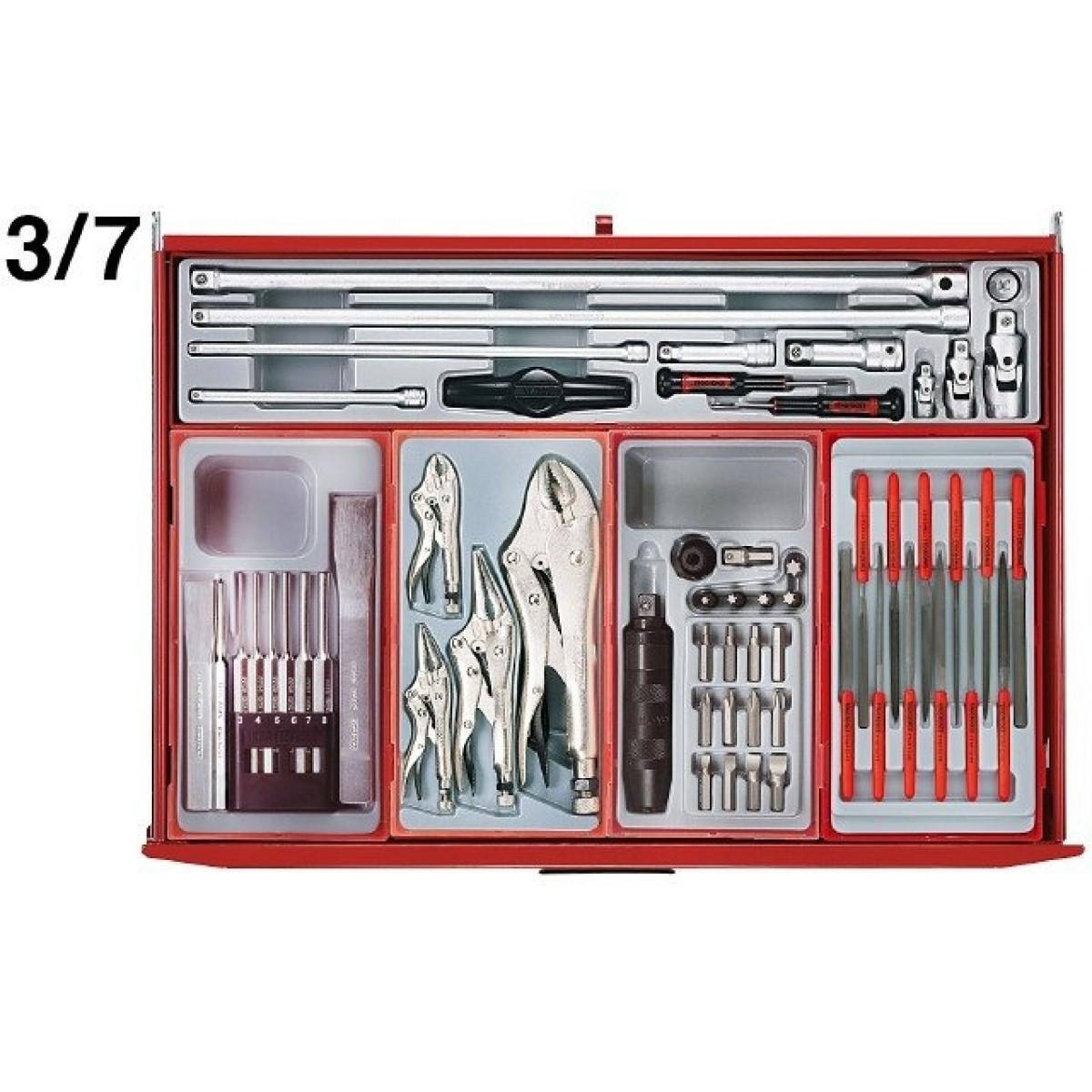 Teng Tools Værkstedsvogn 1055 dele-31