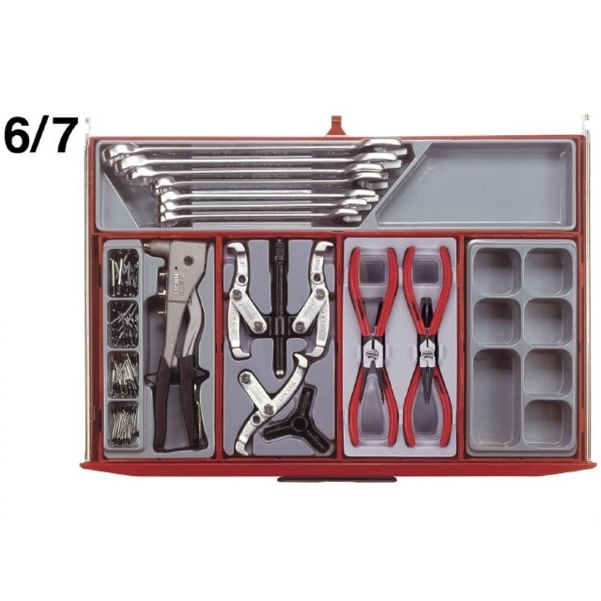 Teng Tools Værkstedsvogn 491 dele-31