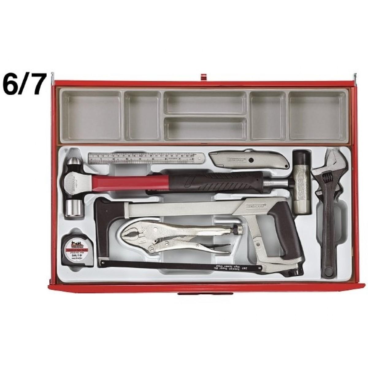 Teng Tools Værkstedsvogn 546 dele-31