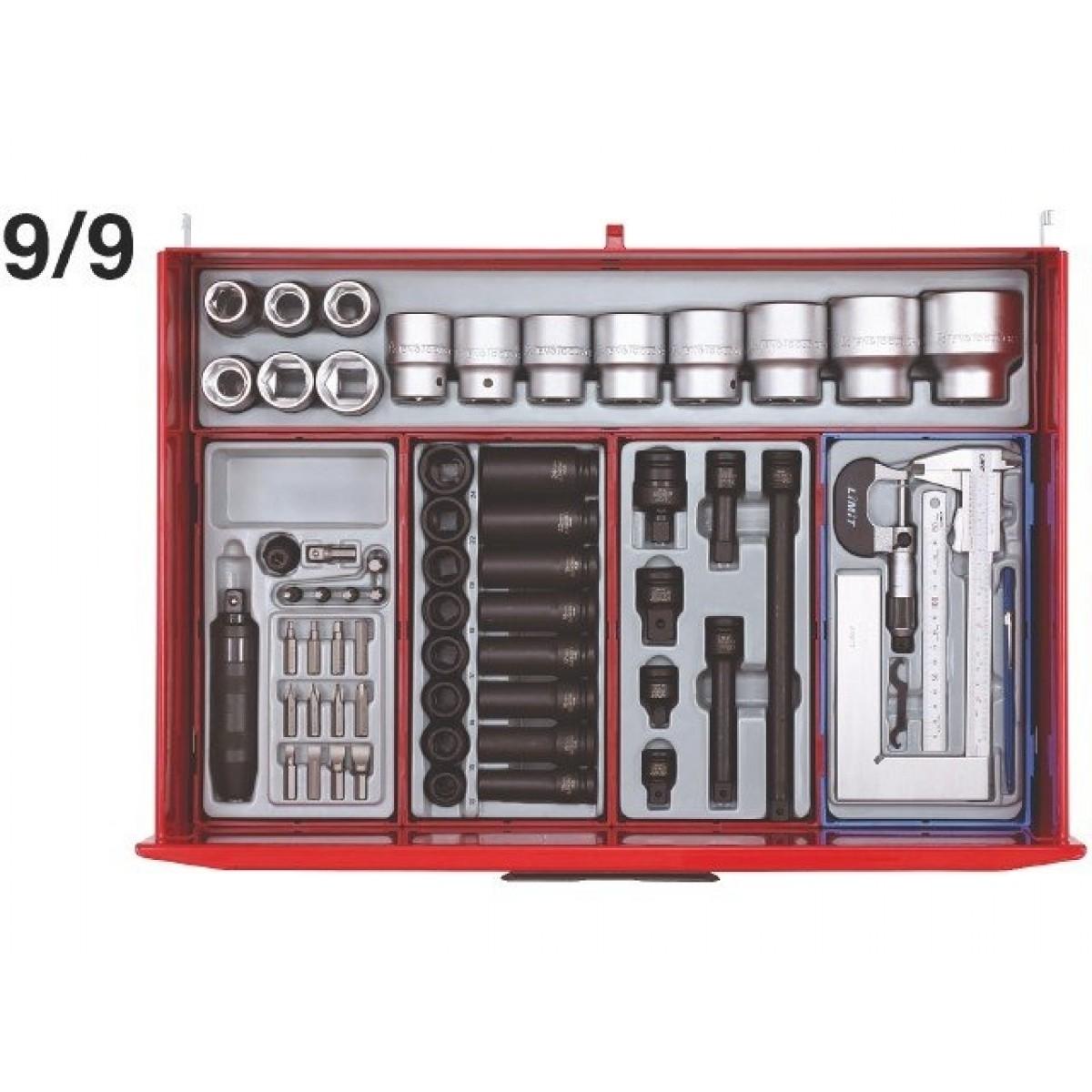 Teng Tools Værkstedsvogn 569 dele-31