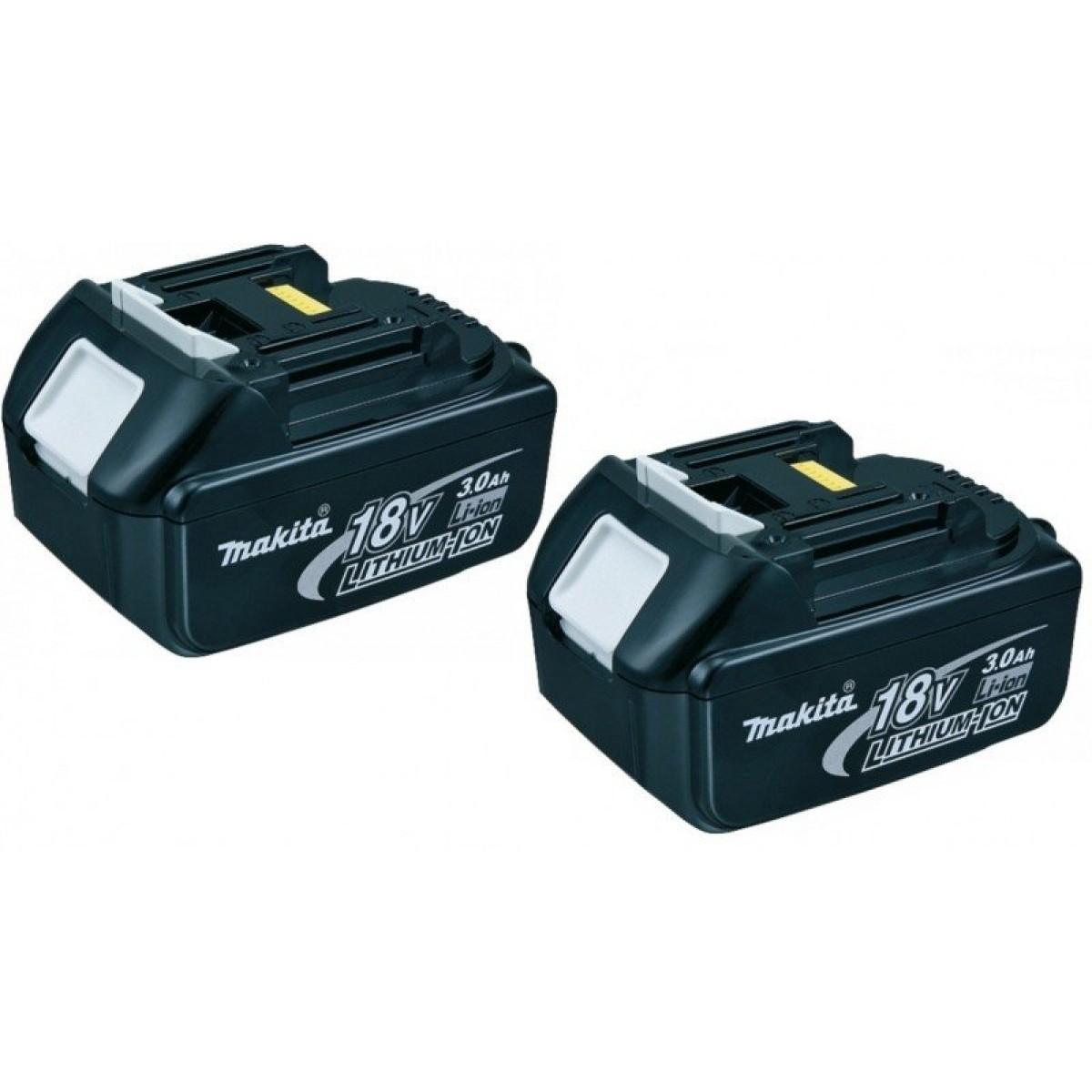 Makita 2x18V Batteri 3,0Ah-31