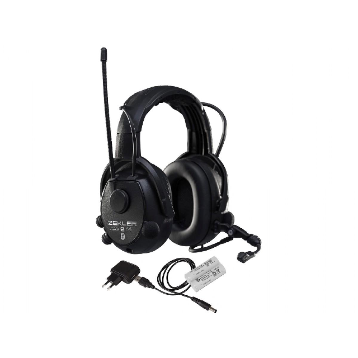 Høreværn ZEKLER 412RDB Bluetooth Genopladelig-32