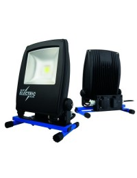 Blue Electric Led lampe 30W med udtag til USB og 230V-20