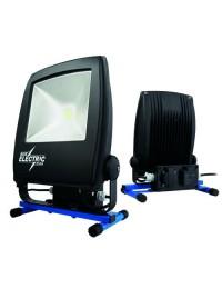 Blue Electric Led lampe 50W med udtag til USB og 230V-20