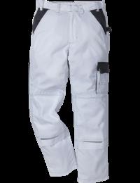 Kansas Icon arbejdsbukser Hvid/grå-20