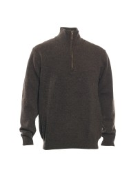 Hastings Strik med Zip-neck-20