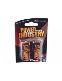 Grunda Power Batteri 2 stk Alkaline C-20