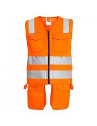 F. Engel Håndværkervest Safety EN ISO 20471-20