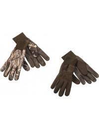 Fleece Handske m. Læder-20
