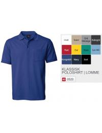 Klassisk Poloshirt-20
