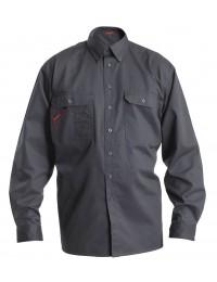 F. Engel Frank arbejdsskjorte med 2 brystlommer-20