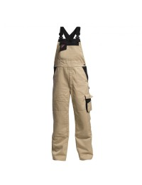 F. Engel Enterprise overalls Khaki/Sort-20