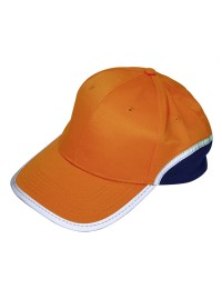 KASKET ORANGE/MARINE ONE SIZE-20
