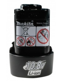 Makita 10,8V Li-ion batteri 1,3Ah-20