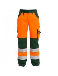 Orange/Grøn