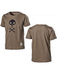 T-shirt med dødningehoved-20