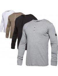 Workzone Grandad T-Shirt L/Æ-20