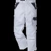 Kansas Icon arbejdsbukser Hvid/grå-03