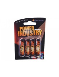 Grunda Power Batteri 4 stk Alkaline AA