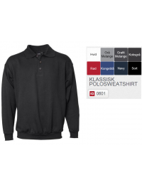 Klassisk Polosweatshirt