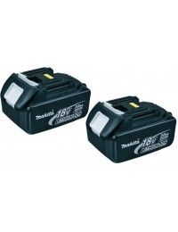 Makita 2x18V Batteri 3,0Ah