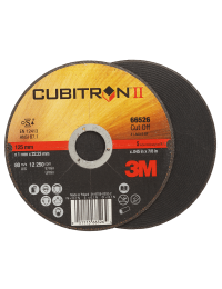 3M Cubitron II skæreskive 125-1,0 mm - Pakke á 25 stk